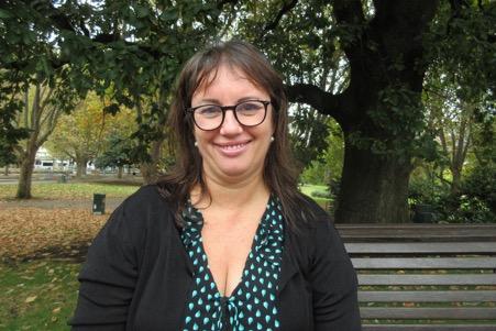 Ruby O'Rourke, independent candidate for Macnamara.