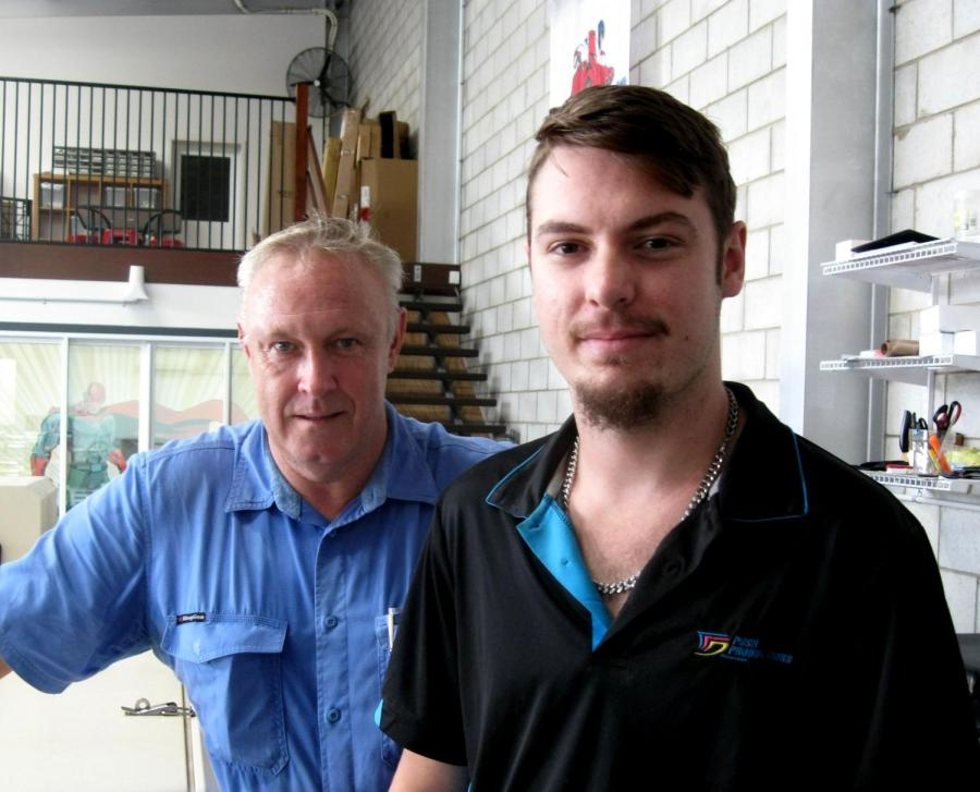 Integrated Family and Youth Services' Paul Morton says Jordan Miletec now has the skills to take his next step in life.