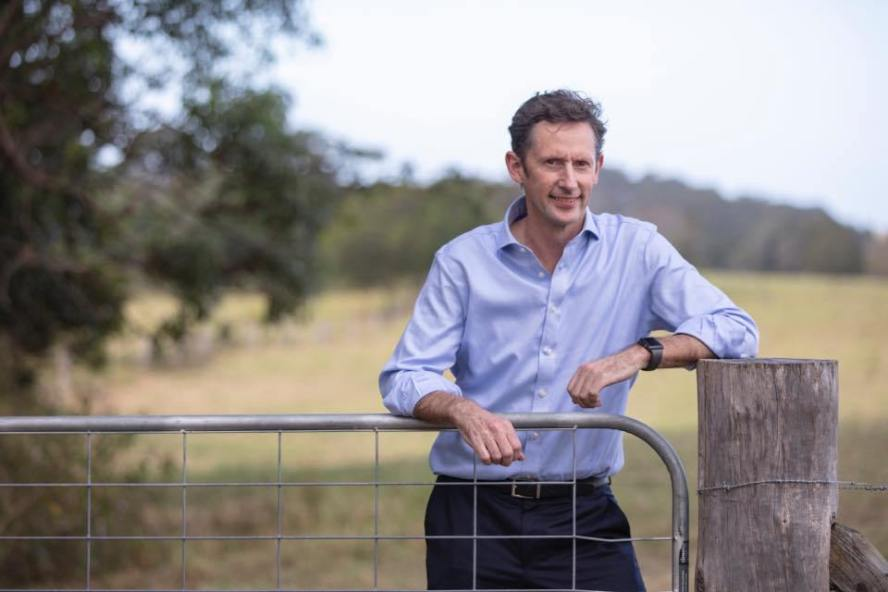 Labor's Stephen Jones is looking for a ninth year in the seat of Whitlam.