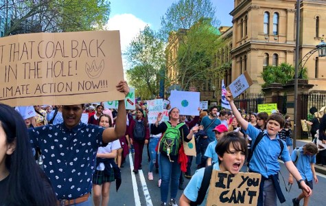 'A great and unifying moment': Sydney students demand action