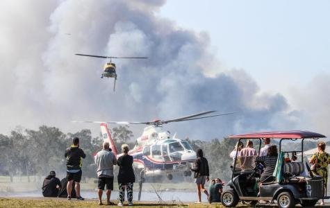 Queensland fires highlight climate crisis