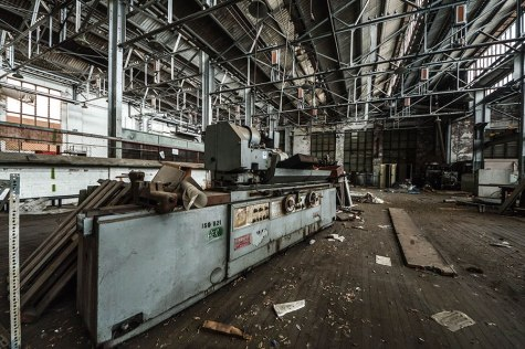 Ruin photography looks at buildings that have been abandoned and left to fall into urban decay. Photo: Vic Ortice