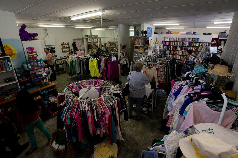 Buying second hand clothing is an effective way to reduce your carbon footprint. Photo: David Burke (CC BY-NC-ND 2.0)