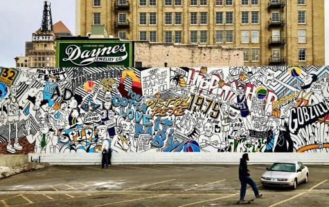 A Utah Jazz street mural in Salt Lake City, Utah, United States (Photo: Trent Call; CC BY-NC-ND 2.0)