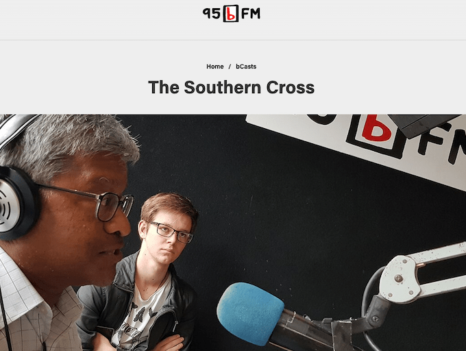 PMC's weekly Southern Cross radio programme on 95bFM ... with Sri Krishnamurthi, James Tapp and the Pacific Media Watch team.