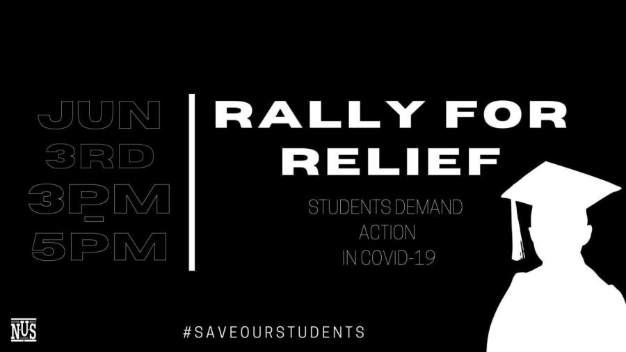 NUS rally for students is part of #SaveOurStudents campaign