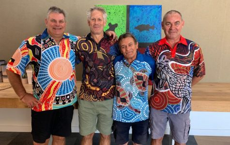Left to Right: The Koori Education team in the Campaspe region – Wayne Cowley, Paul Clarke, Rick Ronnan and Howard Armstrong.