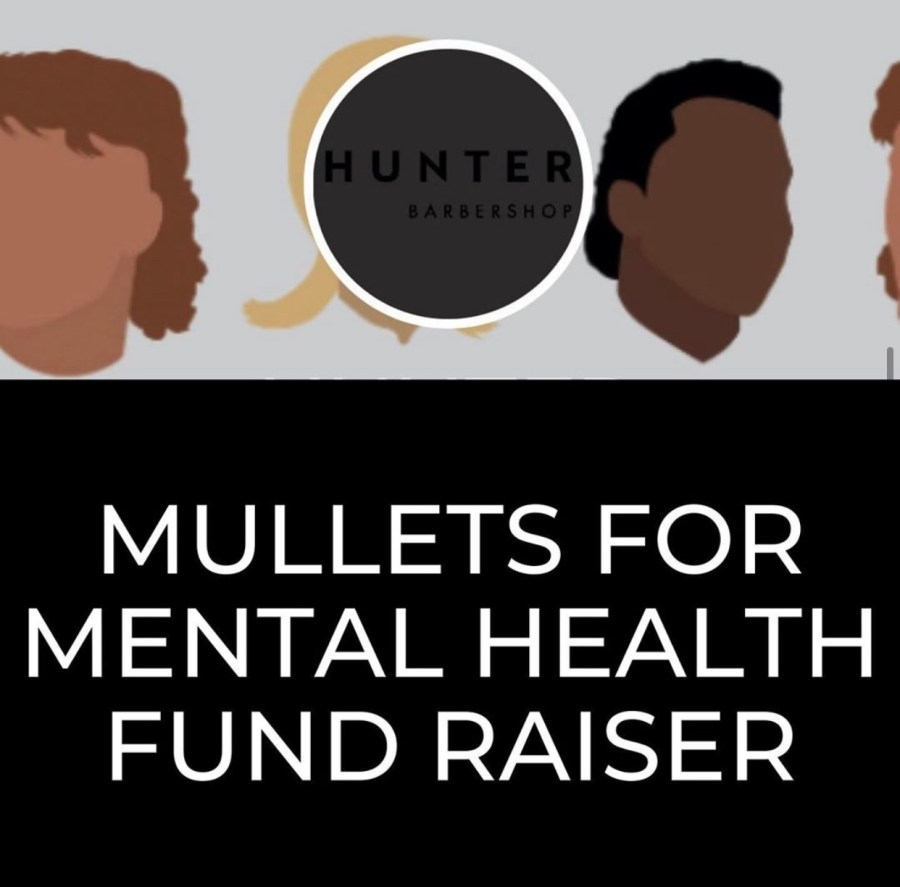Geelong barbershop, Hunter Barbers is doing what they do best and raising $10 from every mullet hairstyle towards mental health research.