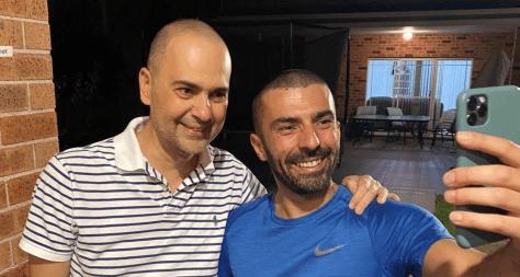 Yasser (L) and Haisam Zogheib (Photo: Nesrin Saab)