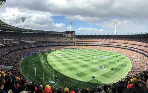 The MCG - where you'd usually expect to find our AFL heroes - not in a ballet studio?