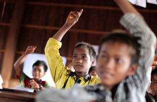 Bilingual education in Cambodia, based on an Australian model, has been highly successful.