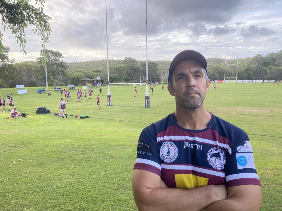 New coach Matt Buckland is looking for the Noosa Dolphins to make a splash again in 2021
