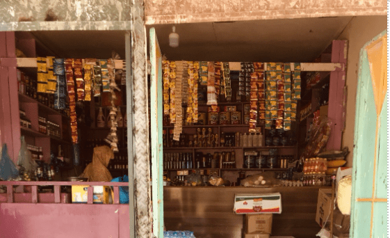 Small corner stores like Anab's are ubiquitous throughout Somaliland and are central to local communities. Photo: Mona Liban