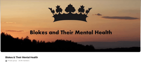 Blokes & Their Mental Health are an online group supporting men to prioritise their mental health.
