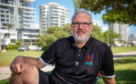 WELCOME HOME COACH: New Phoenix basketball coach and general manager Dale Ryan brings a world of experience. Picture: Warren Lynam, Sunshine Coast News.