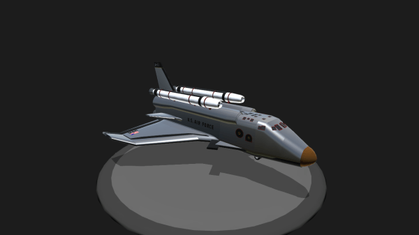SimplePlanes | X-71 Shuttle (from Armageddon)
