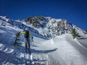 backcountry skiing Alaska