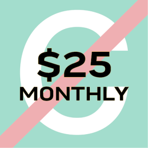 $25/month icon