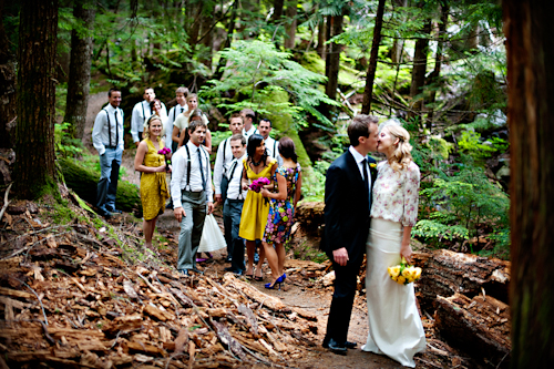 Chic Outdoor Whistler Wedding In British Columbia