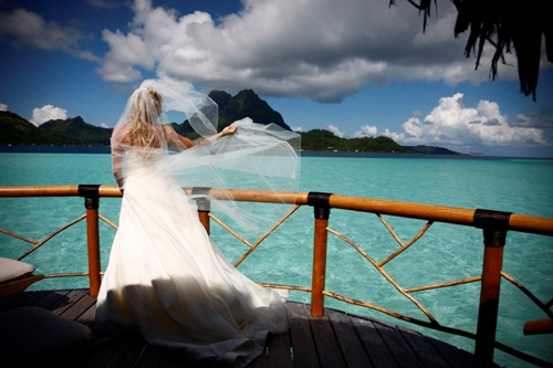 Bora Bora Pearl Resort Amp Spa Wedding Venue French