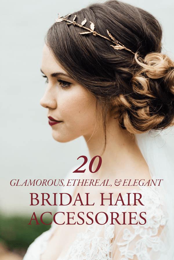 20 bridal hair accessories