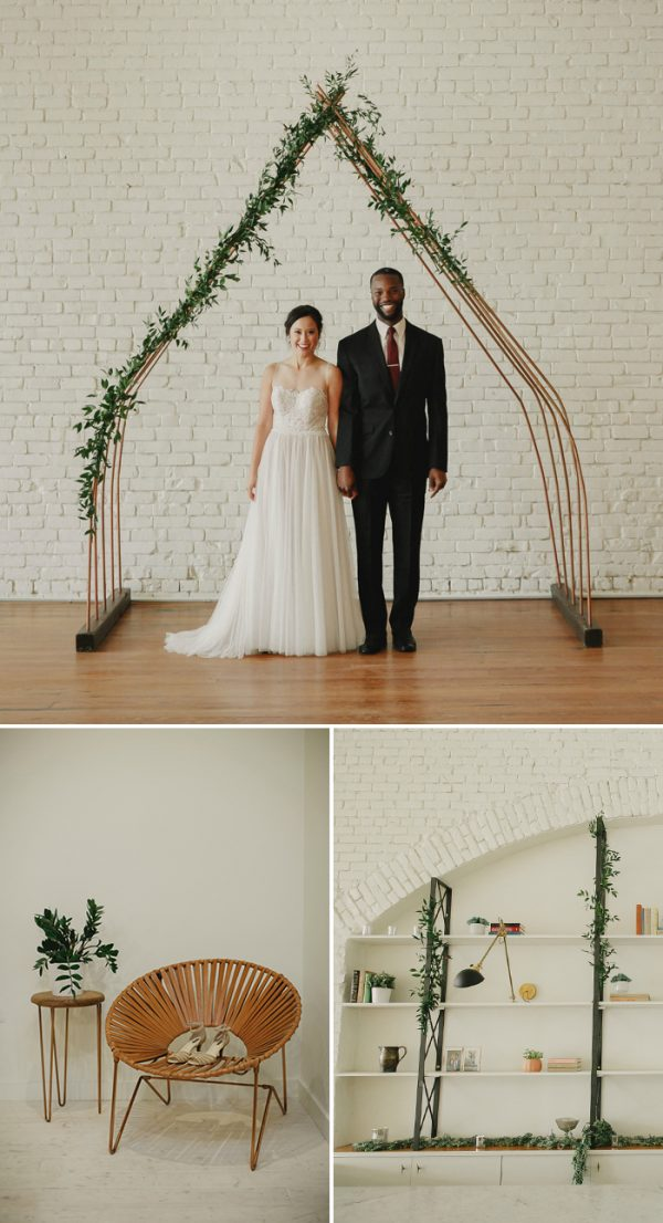 These 6 Mid-Century Modern Wedding Decor Ideas Will Make ...