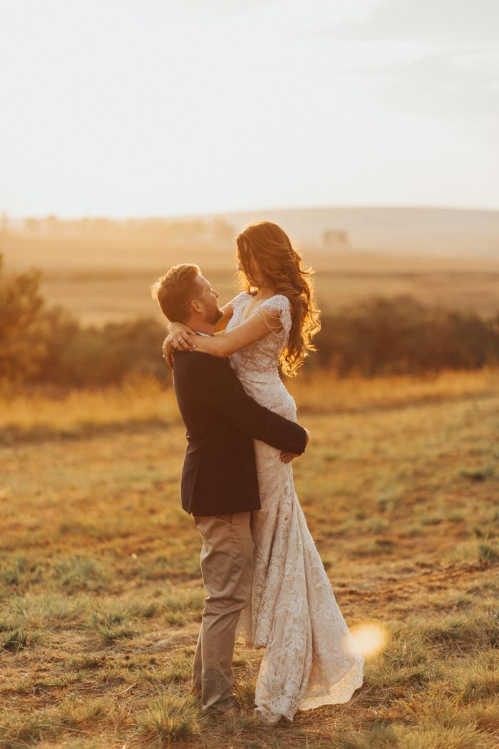 Rustic South African Farm Wedding Overlooking The