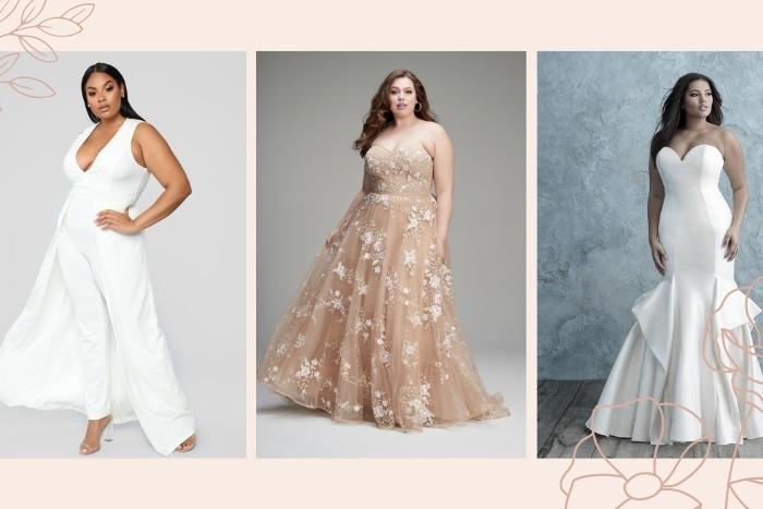 Stunning Plus Size Wedding Dresses Junebug Weddings