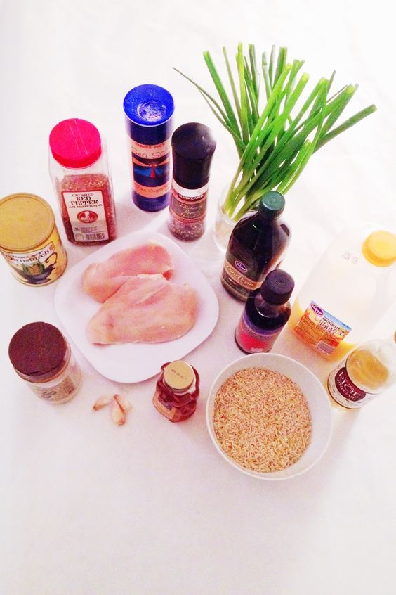 Skinny Orange Chicken Ingredients