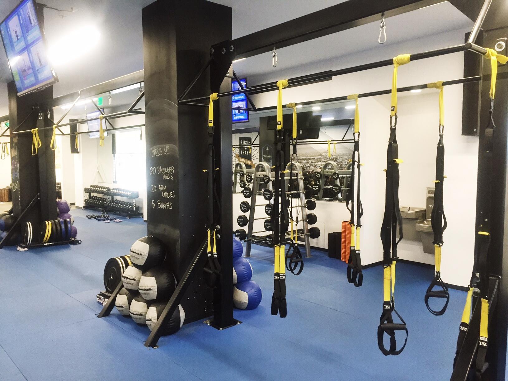 LA fitness studio