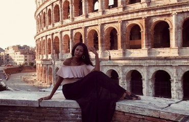 June Johnson Rome Italy