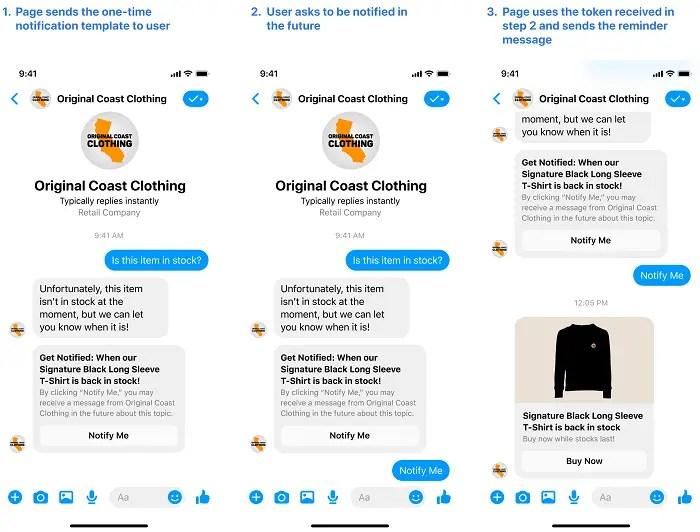 Facebook new API