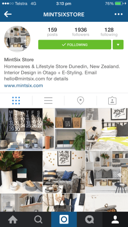 "This shop taunts me: taunts me from its ""convenient"" location in ""New Zealand"". Well, ""MintSix Store"", I ""love"" your products and styling, and it's a ""genuine"" pleasure to scroll through your feed in ""Australia"". (Did I use the ""air thingys"" right?) http://mintsix.com"