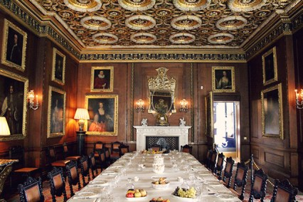Dining Room at Longleat House