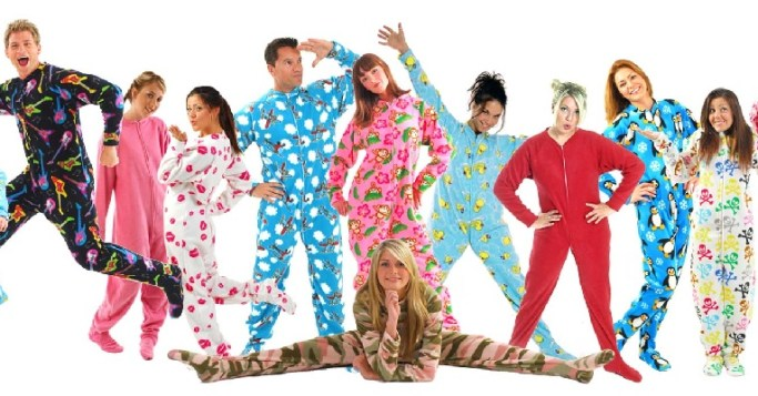 Where to Get Grown Folk Footed Pajamas - June's Journal