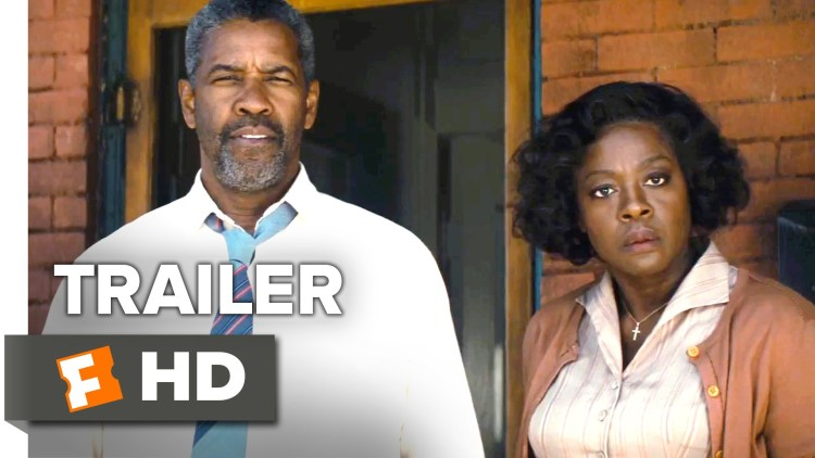 """New Denzel Movie, """"Fences"""" Debuts Christmas Day 