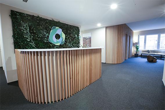 OVID Clinic reception