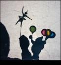 Zirkus, Schattentehater, Ballerina