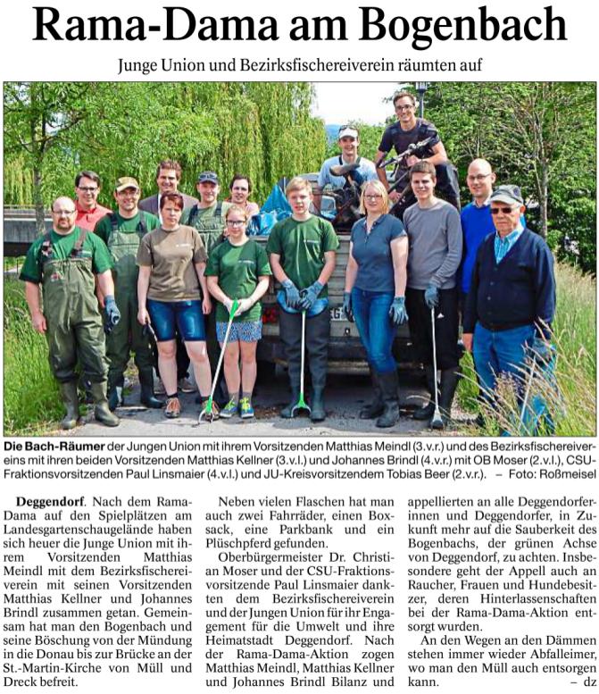 Deggendorfer Zeitung 23.05.2016