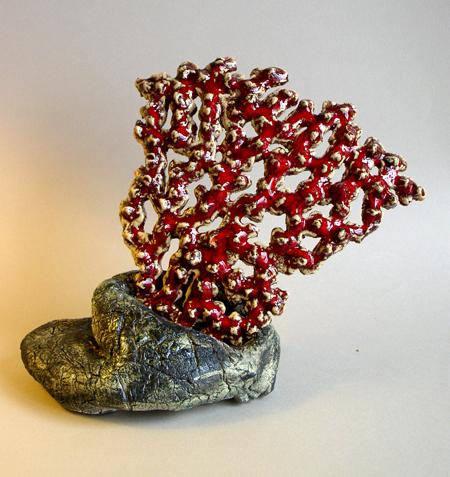 Red Coral by Jungim Bostwick