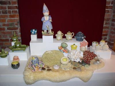 Seward Park Pottery show