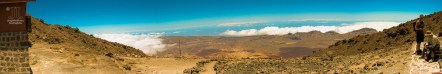 Es war eine großartige Wanderung zum Teide hoch. Wir sind bei 2.000m üNN eingestiegen und unser Wanderführer hat uns sicher nach oben gebracht.