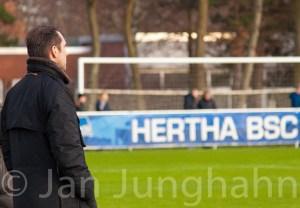 Michael Preetz - Geschäftsführer Sport und auch im Bild der Sportfotografie