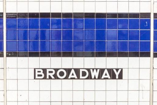 Die Subway Station am Broadwy