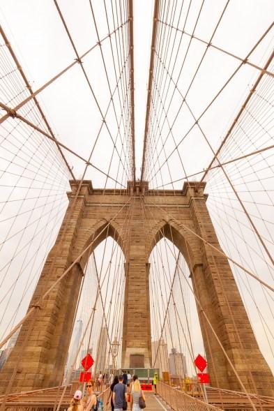Die Brooklyn Bridge wurde von einem gebürtigen Thüringer errichtet.