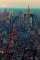 Auf diesem Bild die Plätze zwei, drei und vier der höchsten Wolkenkratzer New Yorks zu sehen. Aufgenommen von der Nummer 1 aus - dem One World Trade Center. http://junghahn24.com/finale-in-new-york/
