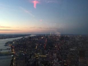 Finale in New York - New York leuchtet