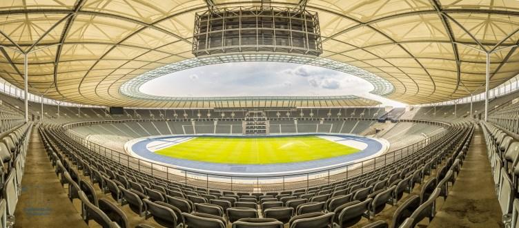 HDR Panorama Olympiastadion Berlin