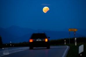 Auf dem Weg zum Mond