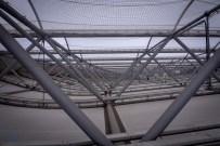 Das mehrfach ausgezeichnete Dach ist ein architektonisches Highlight im Olympiastadion Berlin.